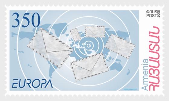 Europa 2008 - Briefe - Serie