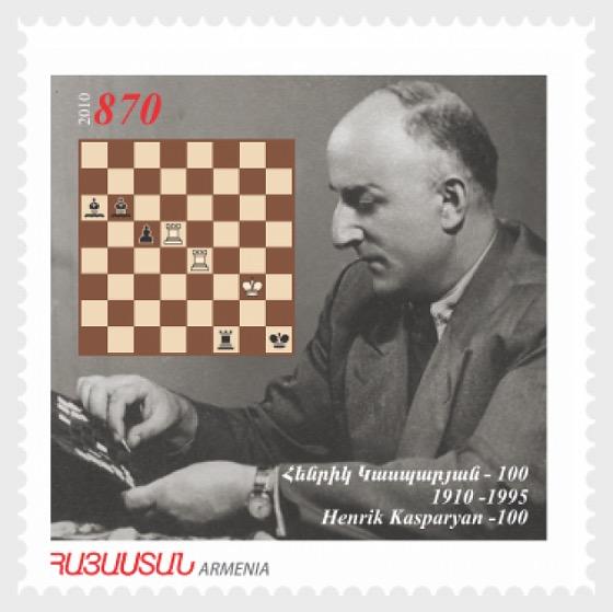 100 ° Aniversario de Henrik Kasparyan (Kasparov) - Series