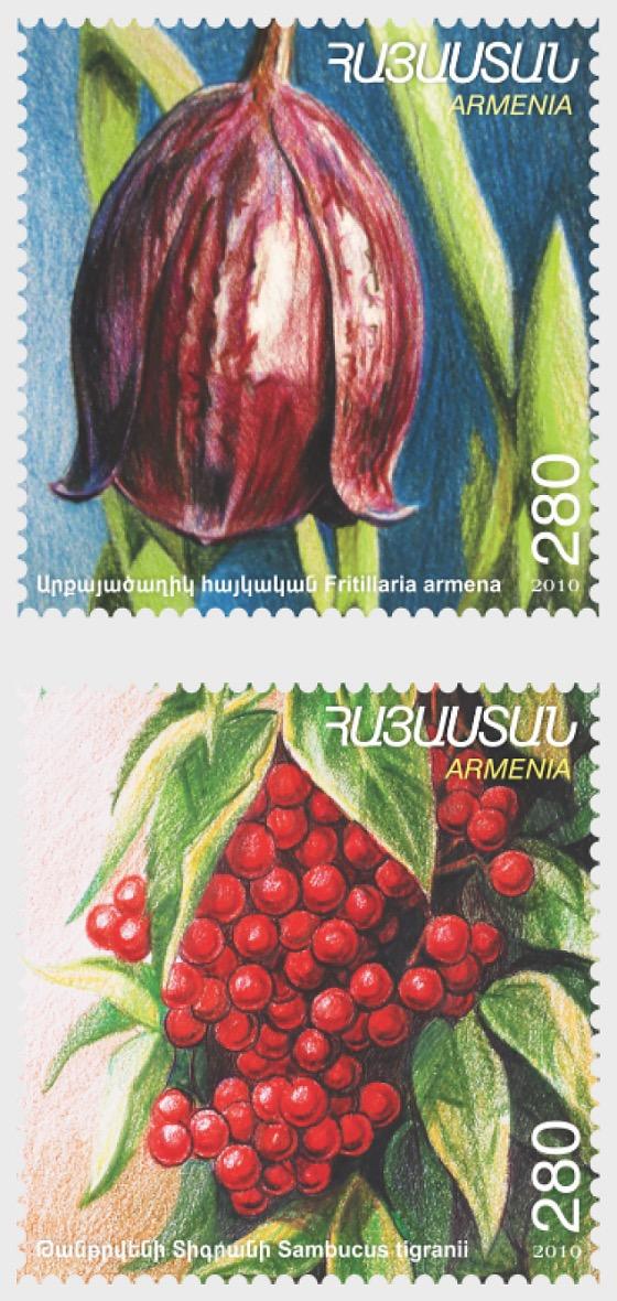 Flora y Fauna de Armenia 2010 - Series