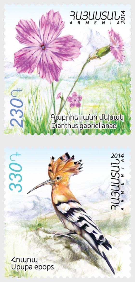 Flora y fauna de Armenia - Series