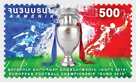 2016 European Football Championship - Euro 2016 - Set