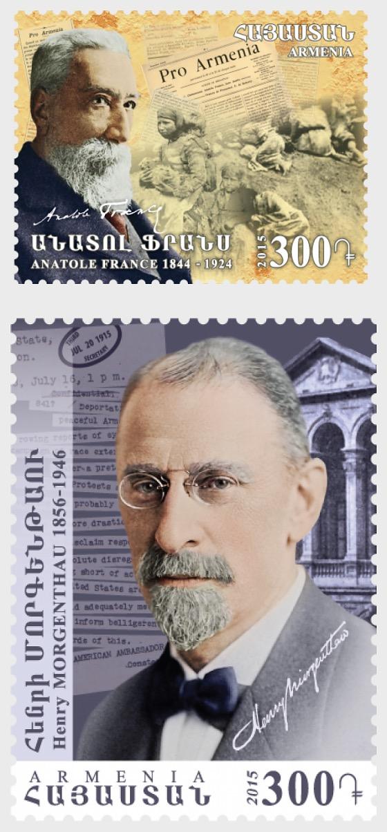 Centenario del genocidio de los armenios - Series