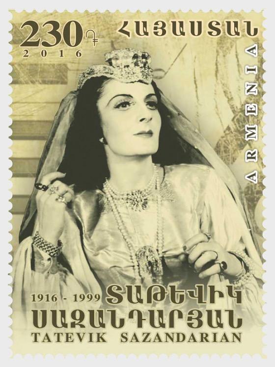 2016 - 100th Anniversary of Opera Singer Tatevik Sazandarian - Set