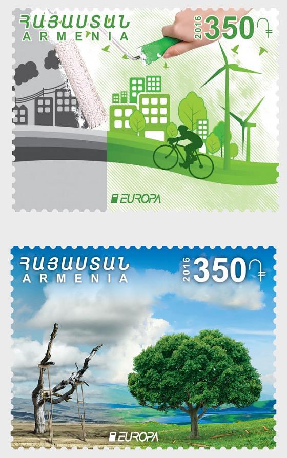2016 Europa - Think Green - Set