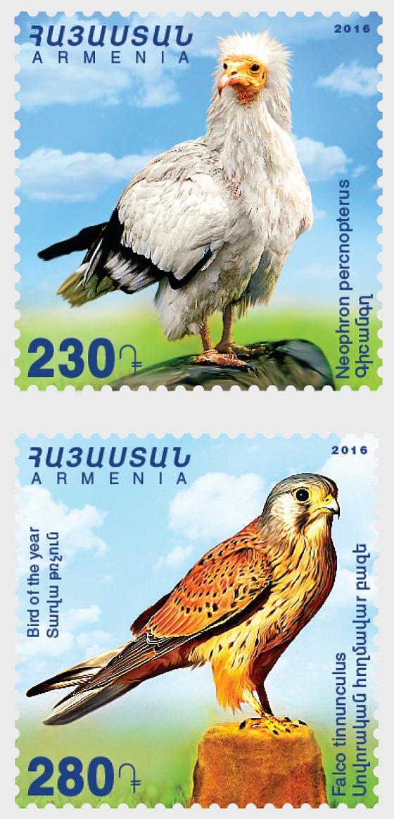Flora y fauna de Armenia - Aves - Series