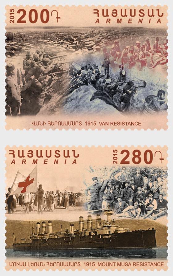Centenario del Genocidio Armenio - Resistencia a la Vanguardia y Resistencia al Monte Musa - Series