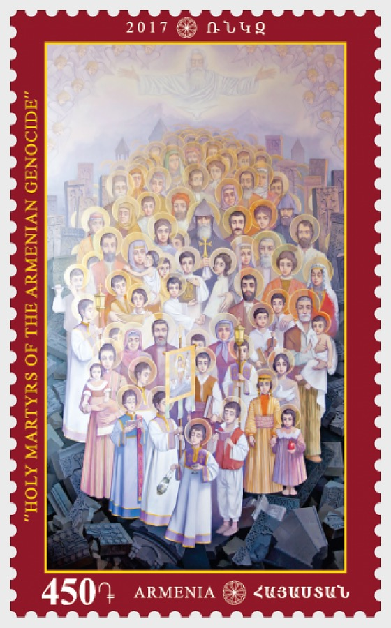 2017 Holy Icon - Martyrs of the Armenian Genocide - Set