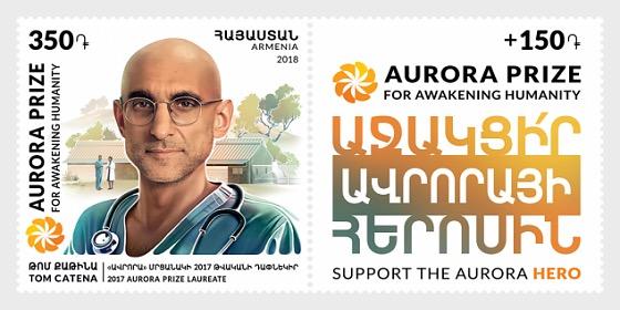 Laureates of Aurora Prize - Tom Catena - Séries