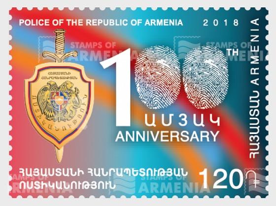 Centenario de la Fundación de la Policía de la RA - Series