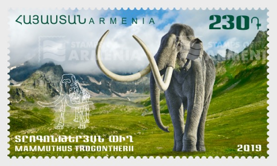 Flora and Fauna of the Ancient World - Mammuthus Trogontherii - Set