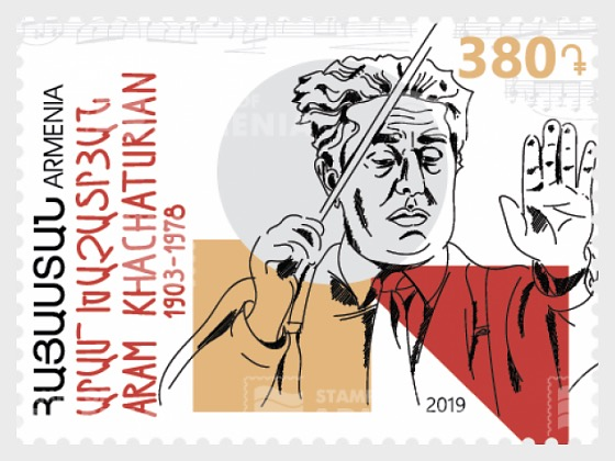 World Famous Armenians, Aram Khachaturian - Set