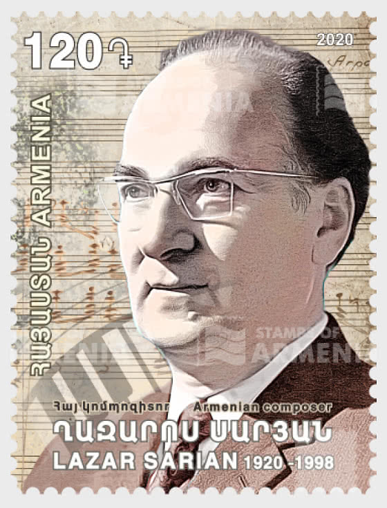 Prominent Armenians - 100th Anniversary of Lazar Sarian - Set