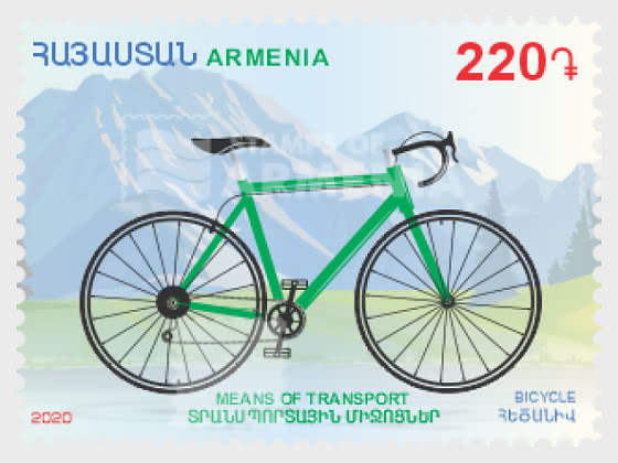 Means of Transport - Bicycle - Set
