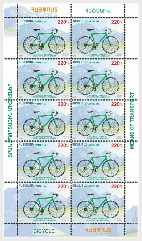 Transportmittel - Fahrrad - Bogenserie