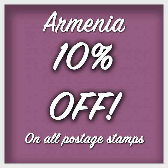 10% OFF POSTAGE STAMPS - Collectibles
