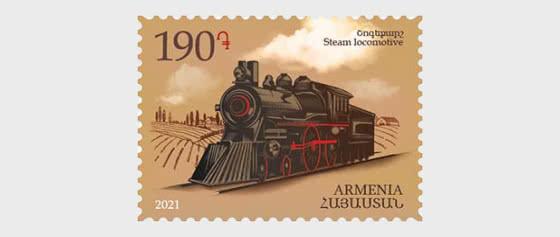 Means of Transport - Steam Locomotive - Set