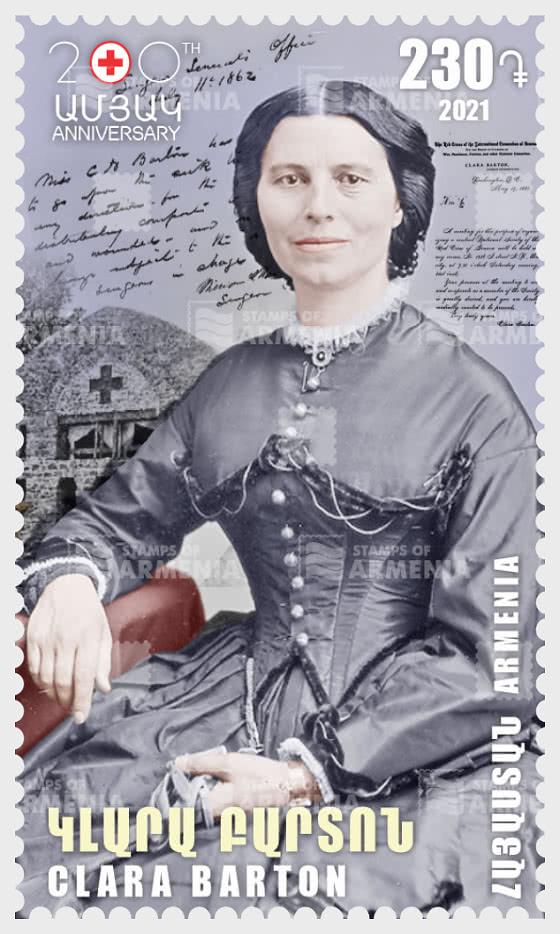 200th Anniversary of Clara Barton - Set
