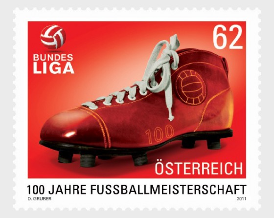 100 Years of the Football Championship in Austria - Set