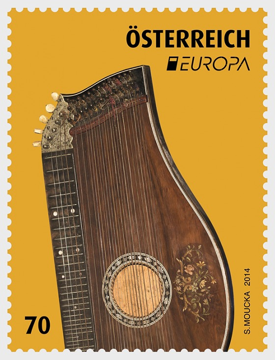 Europa 2014 - Zither - Set