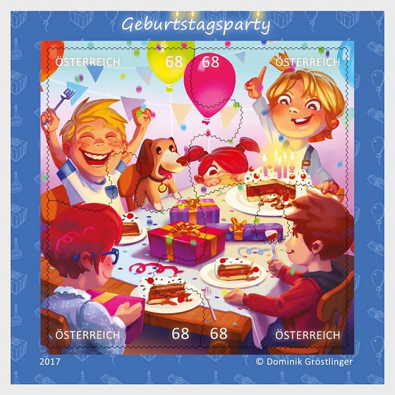 Birthday Party - Sheetlets