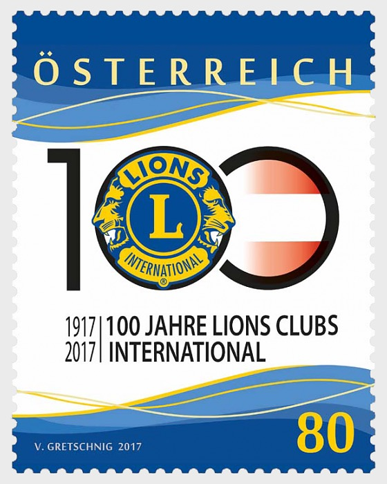 100 years of Lion Clubs International - Set