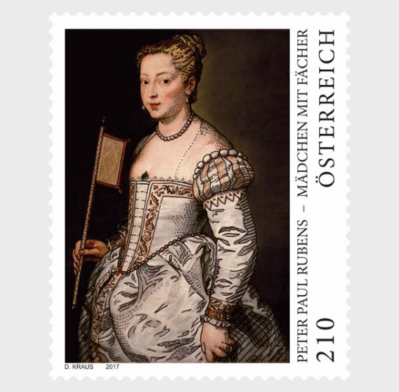 Peter Paul Rubens – Girl with Fan - Set