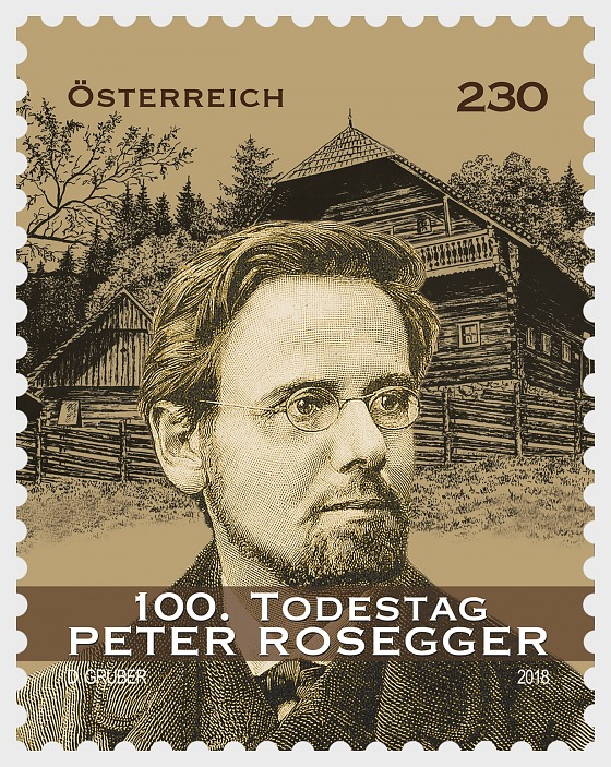 100th Anniversary of the Death of Peter Rosegger - Set
