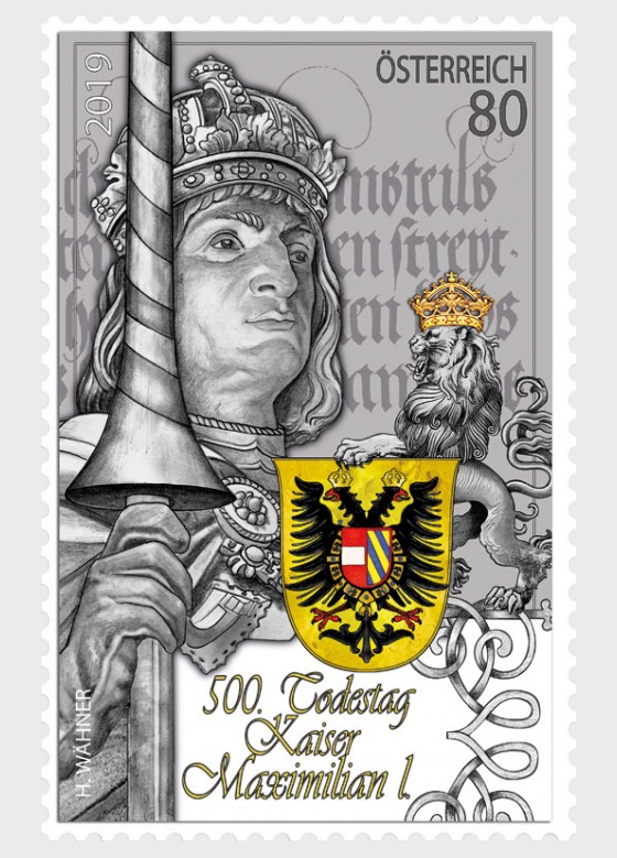 500th Anniversary of the Death of Emperor Maximilian I - Set