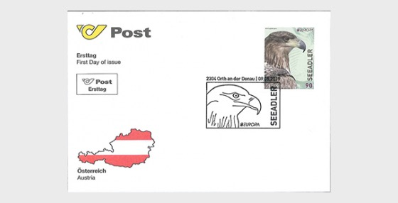 Europa 2019 - White-Tailed Eagle - First Day Cover