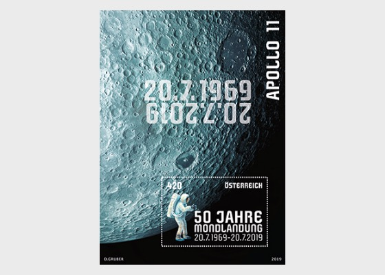 50th Anniversary of the First Moon Landing - Miniature Sheet