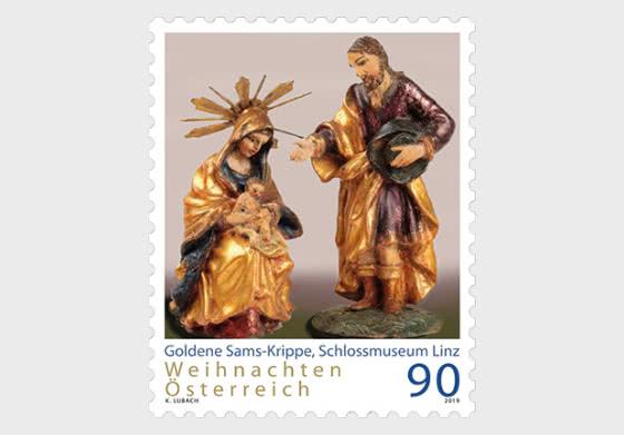 Christmas 2019 - Goldener Sams - Nativity Scene - Set
