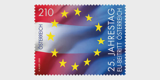 25th Anniversary of Austria Joining the EU - Set