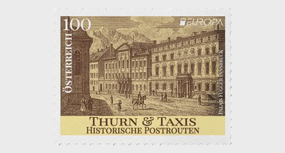 Europa 2020 – Historic Postal Routes Thurn and Taxis - Set