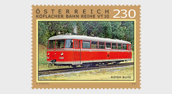 Roter Blitz - Clase de Ferrocarril Graz-Köflach VT 10 - Series