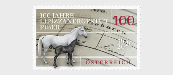100th Anniversary Of The Lipizzaner Stud Farm In Piber - Set