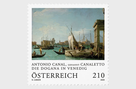 Antonio Canal a. k. a. Canaletto – The Dogana at Venice - Serie