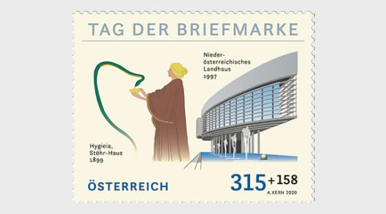 Day of the Stamp 2020 – St. Polten - Set