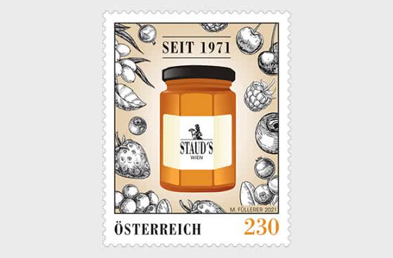 维也纳STAUD的50年 - 套票