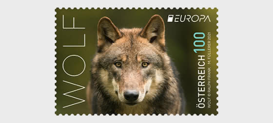 欧洲2021年-狼 - 套票