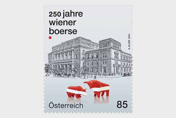 维也纳证券交易所250年 - 套票