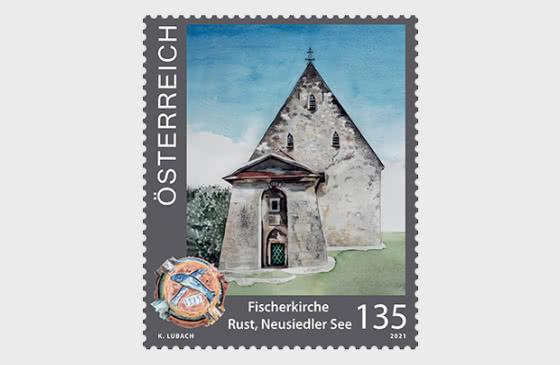 铁锈的渔民教堂 - 套票