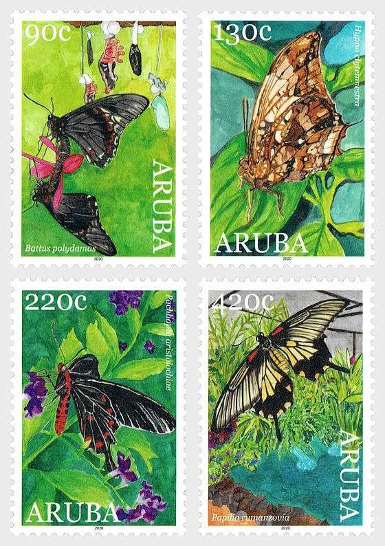 蝴蝶2020 - 套票