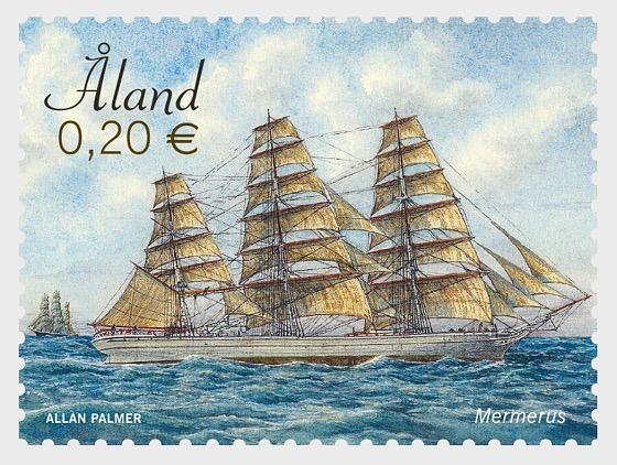 Sailing Ships - Mariehamn & Mermerus - Set