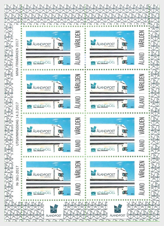 My Stamp - Postal Lorry - Sheetlets