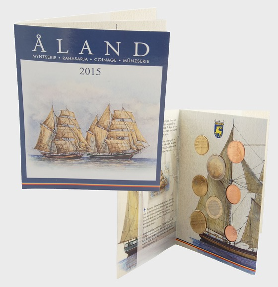 2015 Euro coin set, Finland, Åland - Coin Year Set