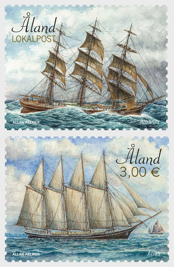 Sailing Ships - Albania & Atlas - Set