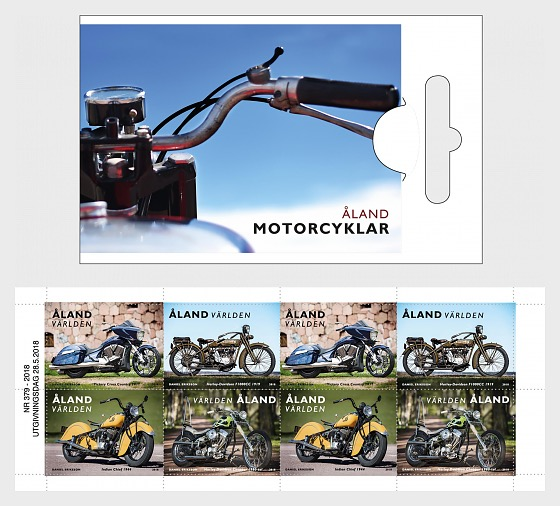 Motorcycles - Stamp Booklet