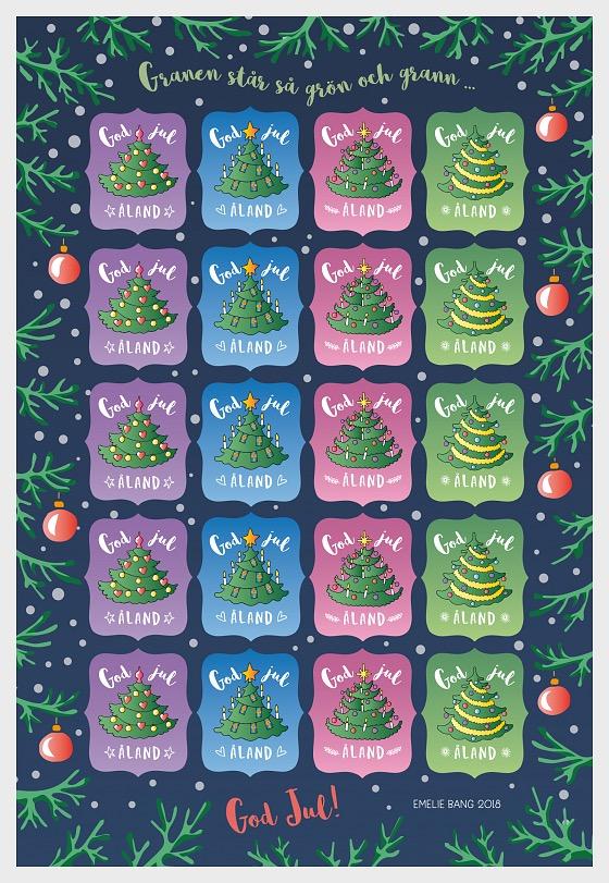 Christmas Seals 2018 - Full sheets