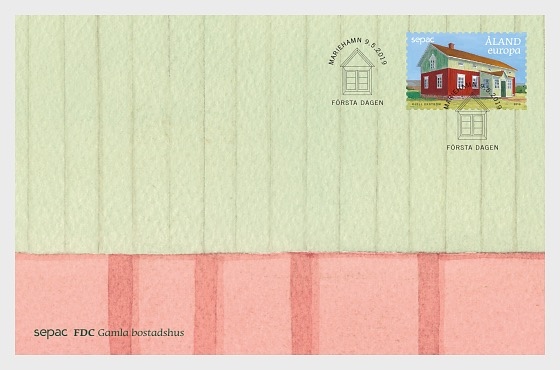 Sepac 2019 - Old Residental Buildings - First Day Cover