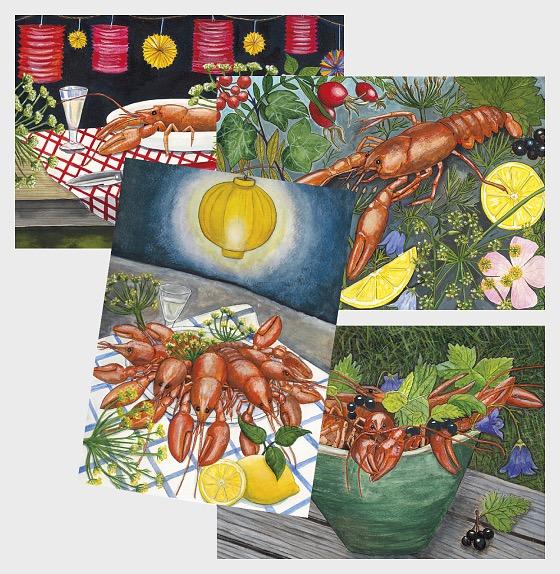 Postal Stationery 2019 - Crayfish Party - Postcard